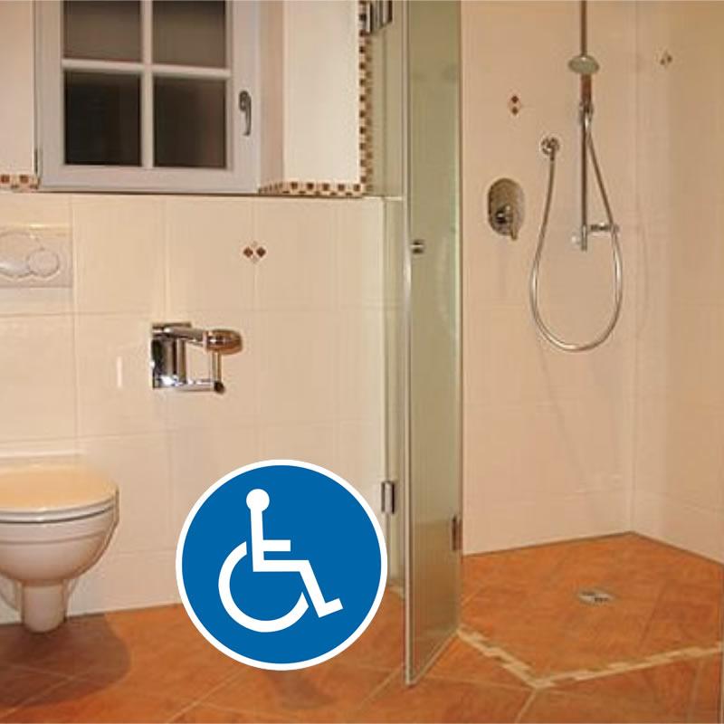 Bad Rollstuhlgerecht